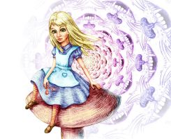 Alice by Anastasia-Artist