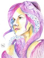 mujer pulpo by madniaco