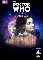 Doctor Who The Grand Old DVD Cover by 10kcooper