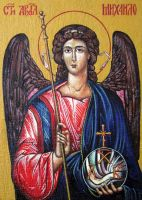 Taxiarch Archangel Michael by Maylar