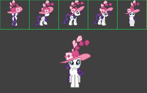 MLP Online Raritys Sweet and Elite Hat by sanorace
