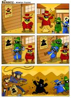 The Bandits: Wanted Poster by AdventureIslands
