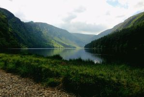 Glendalough Upper Lake by Destroth
