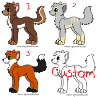 Wolf Point Adopts Batch -OPEN-1 LEFT- by WolfTwine