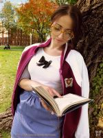 Hyung86's Disney University Belle reading xD by giusynuno