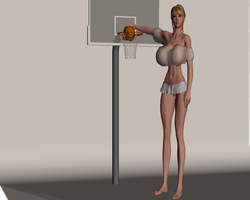Perfect Basketball player by jacbj