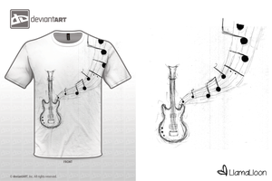 Musical T-Shirt design by Llama-Lloon