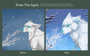 draw this again - cold breath by azzai