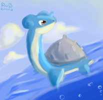 Lapras and stuff by Pizaru-Chu