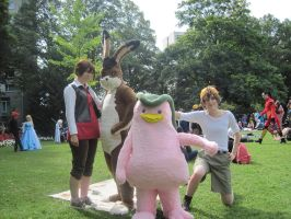 Connichi 2010 Monster rancher by Moeker