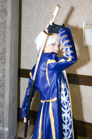 Vergil Cosplay: I Dare You. by Midoh