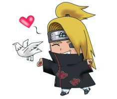 Deidara Chibi by icecandy19