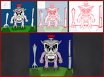 Correction : MMPR Hollows: Pudgy Pig by dragonfire53511