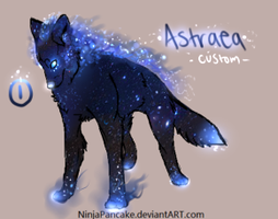 Astraea Wolf Custom for Mrshuskey by TheFireGypsy