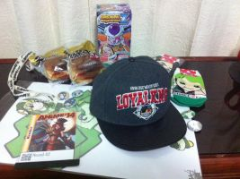 Stuff from Anime Fest 2014 by Hound-02
