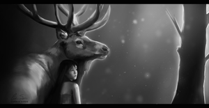 The Elk by OhWoahItsMe