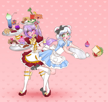 Crossplay Cafe Collab - part 1 by Pastel-Hime