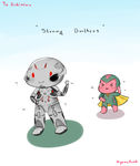 Strong Brothers by KyomuRunA