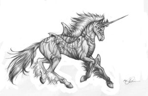 Fantasy - Unicorn Hybrid by Chaos-Flower