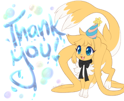 Thank you for the birthday wishes! by Ambunny