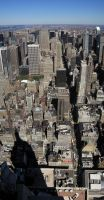 NYC - Manhattan North by freezejeans