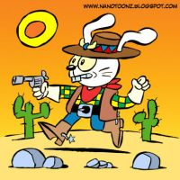 CONEJO VAQUERO by ZeroCartoon