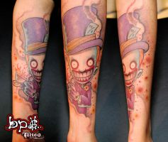 Chapelier fou by BPS-TATTOO