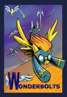 Wonderbolts poster by Turonie
