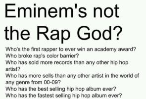 Eminem's not the Rap God? by XCyb3rAlienx
