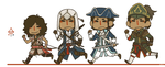Assassin's Creed 3 by jamknight