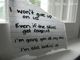 .:I Won't Give Up:. by ToInfinityAndBey0nd