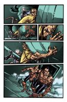 Color portfolio: Thunderbolts N. 159, pag5 by shiprock