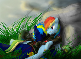 'Don't die on me Marine' by misterz100