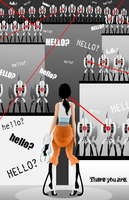 There You Are - Portal 2 by LaggyCreations