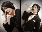 Those Butlers: Moustache by MurakiOAO