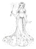 Glinda The Good Witch of the South (OZ) by djeffers