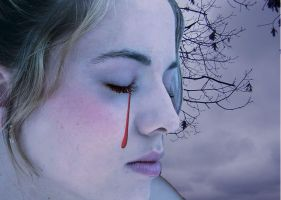 Tears of Blood by invadernina