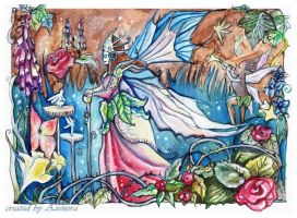 The queen of Fairies by Azenora21