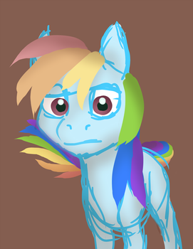 Colour Theory Rainbow Dash by Viethra-Schepherd