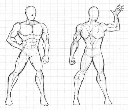 Male Template sample by Dualmask