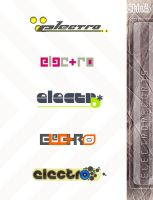 electro:records . logo by SKIN-3