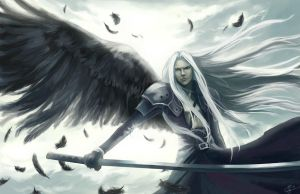 One Winged Angel by sypri