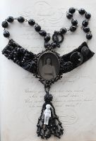 Victorian Mourning Necklace by asunder