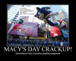 Macy's Day Crackup! by shadowbane2009