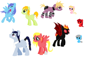 MLP Adopts by Elphaba-Fang