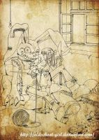 imaginary  friend? by cicadella