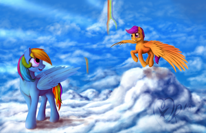 Heights of life by xormak