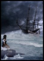 Lost At Sea by gothfiend