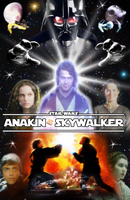 Anakin Skywalker poster by DarthDestruktor