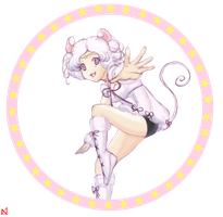 Sailor Iron Mouse (paint) by Boxas